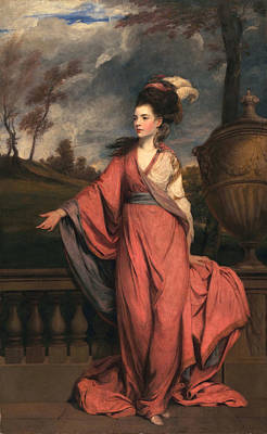 Jane Fleming, Later Countess Art Print by Sir Joshua Reynolds