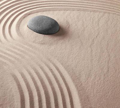 Photograph - Japanese Zen Garden by Dirk Ercken