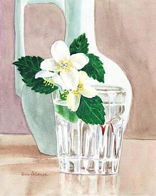 Original featuring the painting Jasmine by Irina Sztukowski