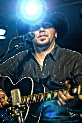 Jason Aldean Art Print by Don Olea