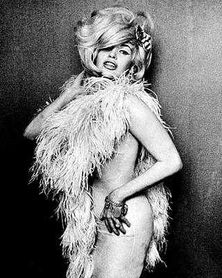 Photograph - Jayne Mansfield by Retro Images Archive