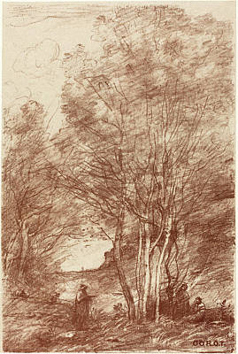 Jean-baptiste-camille Corot French, 1796 - 1875 Print by Quint Lox