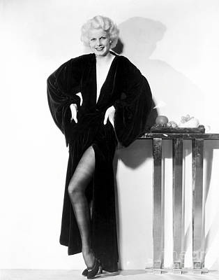 Actress Photograph - Jean Harlow by MMG Archives