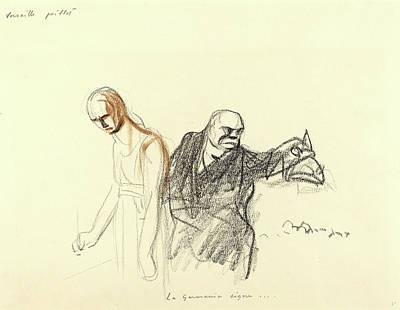 Jean-louis Forain Art Print