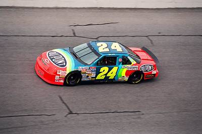 Jeff Photograph - Jeff Gordon by Retro Images Archive
