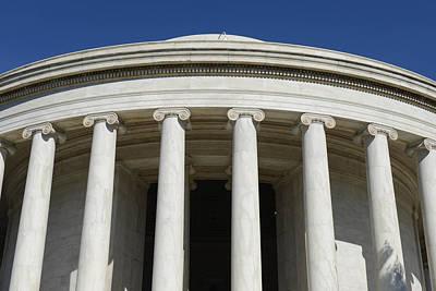 Photograph - Jefferson Memorial Building by Brandon Bourdages