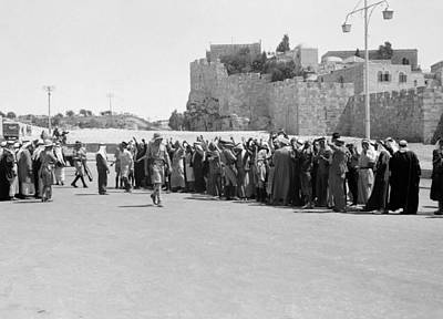 Photograph - Jerusalem Arab Revolt by Granger
