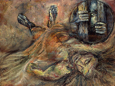 Painting - Jesus Is Laid In The Tomb by Patricia Trudeau