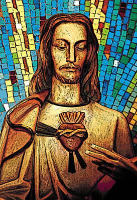Digital Art - Jesus  by Sandra Selle Rodriguez