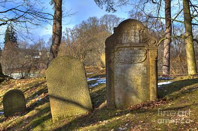 Czech Republic Photograph - Jewish Cemetery by Regina Koch