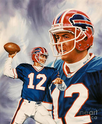 Painting - Jim Kelly by Dick Bobnick