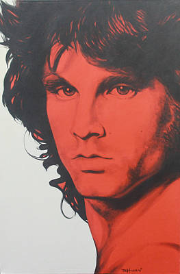 Singer Painting - Jim Morrison by Bruce McLachlan