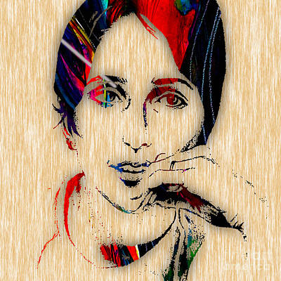 Joan Baez Collection Art Print