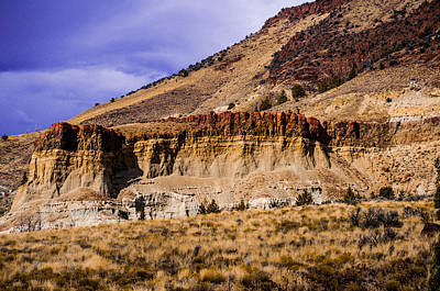 Photograph - John Day Fossil Beds Nations Monuments by Shiela Kowing