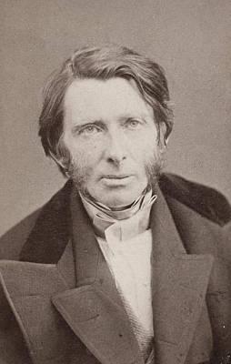 Lapel Painting - John Ruskin (1819-1900) by Granger