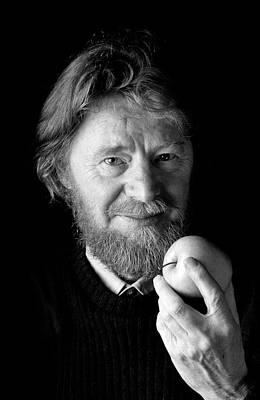 Philosophical Photograph - John Stewart Bell by Peter Menzel