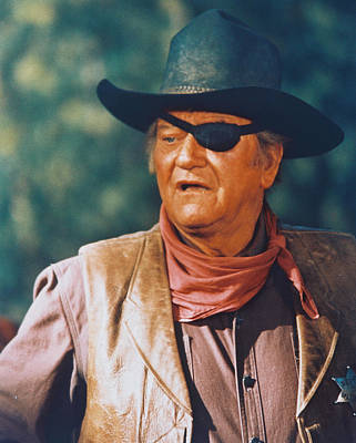 John Wayne Photograph - John Wayne In True Grit  by Silver Screen