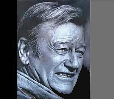 Target Threshold Nature Royalty Free Images - John Wayne late in his career Royalty-Free Image by David Lee Guss