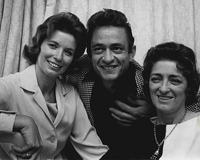 Arkansas Photograph - Johnny Cash by Retro Images Archive
