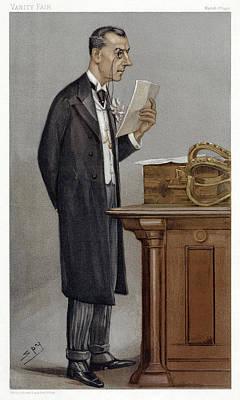 Reformer Painting - Joseph Chamberlain (1836-1914) by Granger