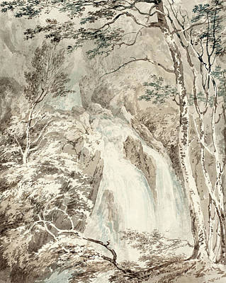 Wash Drawing - Joseph Mallord William Turner British, 1775 - 1851 by Quint Lox