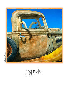 Old Truck Painting - Joy Ride... by Will Bullas