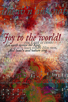 Digital Art - Joy To The World by Chuck Mountain