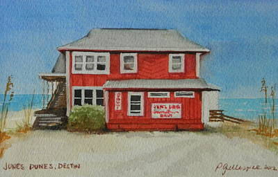 Since Painting - Junes Dunes I by Patti Gillespie