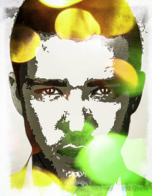 Digital Art - Justin Timberlake by Svelby Art