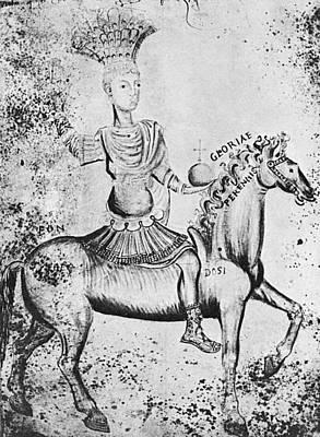 Justinian I (483-565) Art Print by Granger