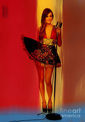 Kacey Musgraves  Print by Marvin Blaine