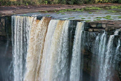 Georgetown Wall Art - Photograph - Kaieteur Falls, Guyana by Pete Oxford