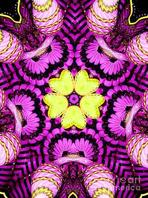 Kaleidoscope Of Blown Glass Art Print