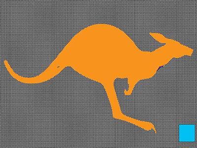 Kangaroo Painting - Kangaroo by Manik