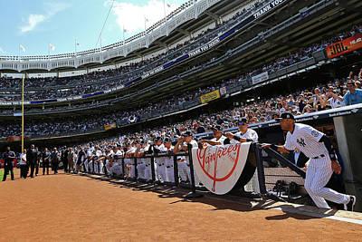 Photograph - Kansas City Royals V New York Yankees by Al Bello