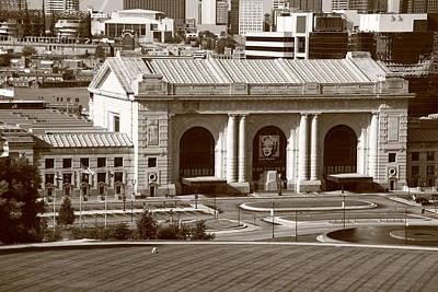 Kansas City - Union Station Art Print