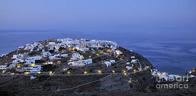 Photograph - Kastro Village In Sifnos Island by George Atsametakis