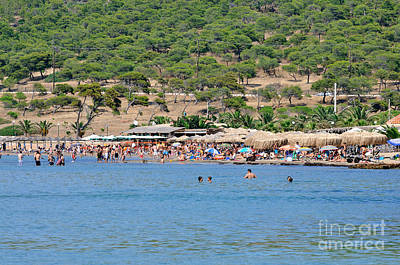 Sea Photograph - Megalo Kavouri Beach by George Atsametakis