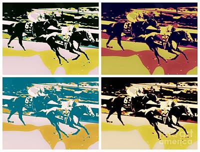 Kentucky Derby Art Print
