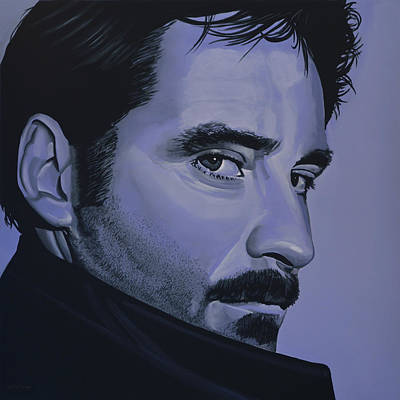 Kevin Kline Art Print by Paul Meijering