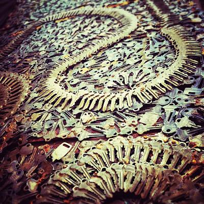 Greenwich Village Digital Art - Key Art by Natasha Marco