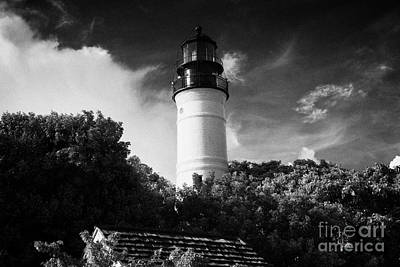 Key West Lighthouse Florida Usa Art Print by Joe Fox