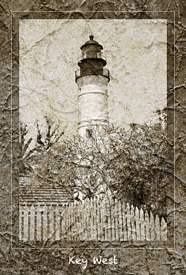 Photograph - Key West Lighthouse by John Stephens