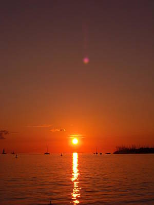 Photograph - Key West Sunset by Martin Williams