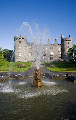 Reconstruction Photograph - Kilkenny Castle - Rebuilt In The 19th by Panoramic Images