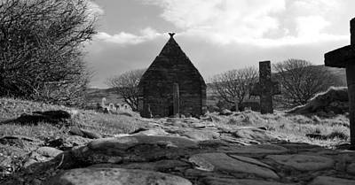 Photograph - Kilmalkedar Church by Barbara Walsh