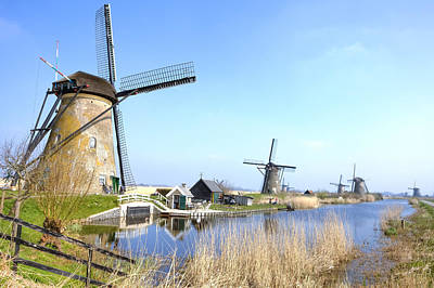 Photograph - Kinderdijk by Joana Kruse