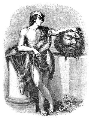 Iron Age Painting - King David (d by Granger