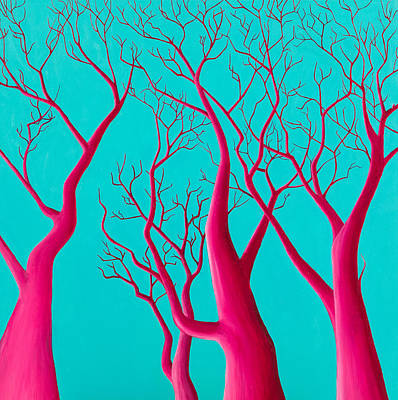 Painting - King Of Limbs by Ellen Patton