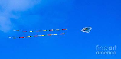 Kites On Ice Art Print